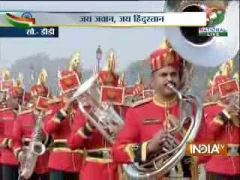 Watch Republic Day parade from Rajpath,Delhi-2