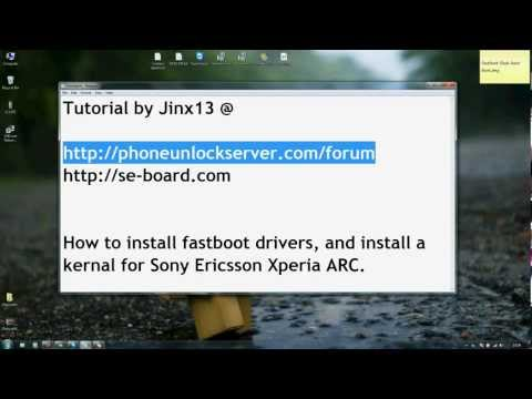 Install fastboot drivers and custom kernal Xperia 2011 by Jinx13