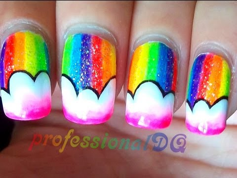 Rainbow Nail Art Collaboration with Juliatmll