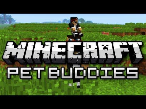 Minecraft: JERRY LIVES! (Pet Buddies Mod Showcase) - YouTube