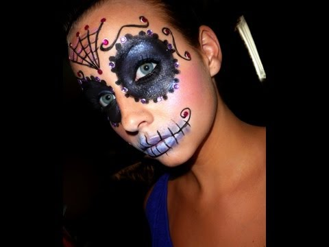 Halloween Series: Sugar Skull Makeup Tutorial