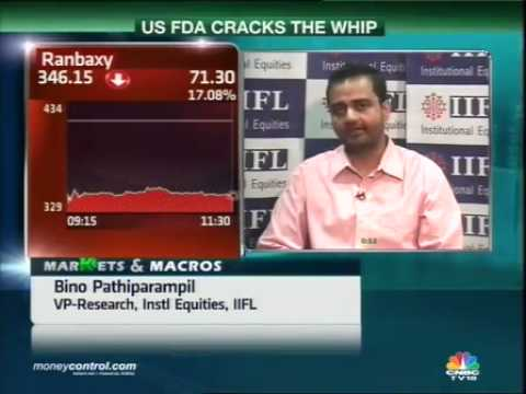 Ban may hit Ranbaxy's new product launches: JM Fin -  Part 1