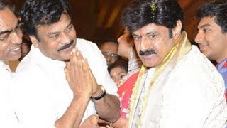 Chiranjeevi at Balakrishna Daughter Marriage