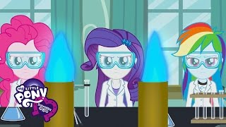 MLP: Equestria Girls - Friendship Games 'Acadeca' Official Music Video
