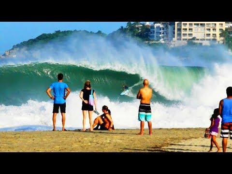 A big-wave playground   Surfing at Puerto Escondido