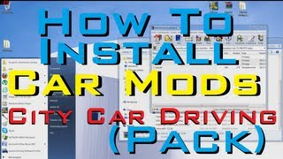 City Car Driving 1.2.5 How To Install CAR MODS PACK