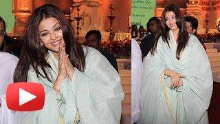 Aishwarya Rai Woos Fans In A Simple Non Glamourous Avatar