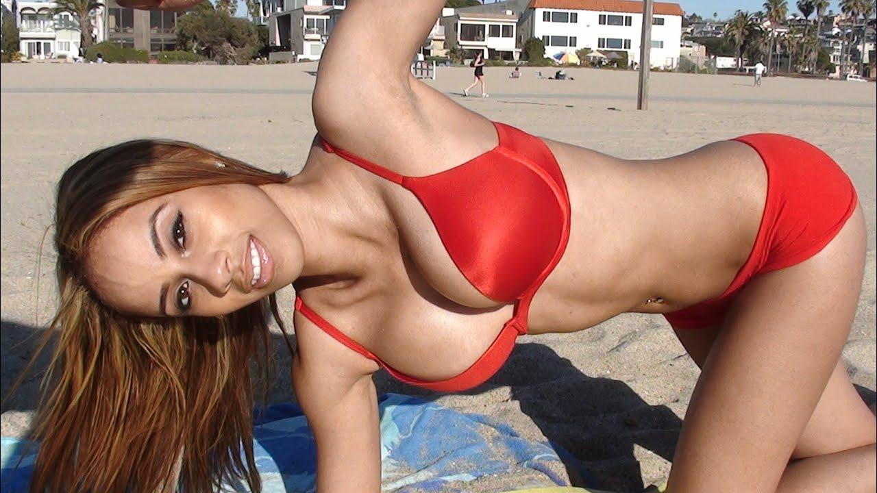 bikini Souht workout beach models