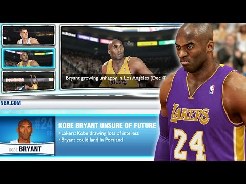 NBA 2K14 Next Gen MyGM #73 - Kobe Bryant Is Unhappy, Its Time For A Pat Riley Reality Check!