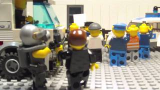 Lego Stop Motion Zombie Attack.