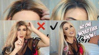 Cómo poner una peluca para que parezca natural