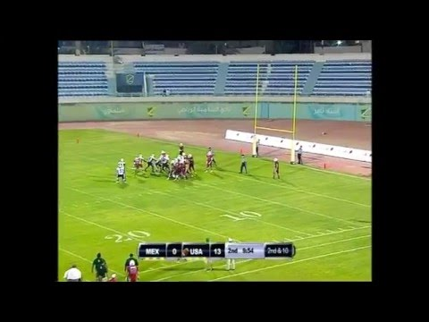 IFAF U19 World Champion KUWAIT 2014: Mexico vs USA