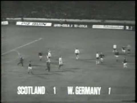 Scotland v Germany 1969 (2/2)