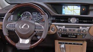 2017 Lexus ES 350 - INTERIOR. YouCar Car Reviews.