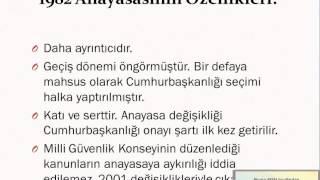 KPSS Anayasa Tekrar Bölüm 1