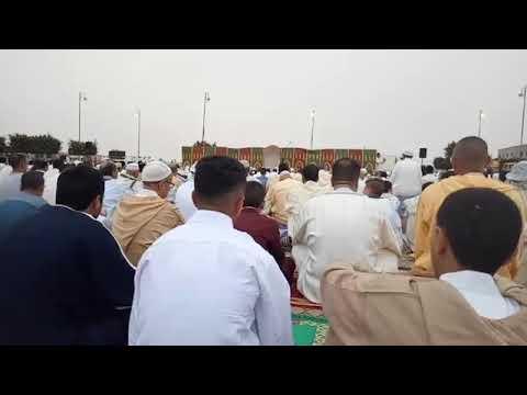 مراسيم صلاة عيد الاضحى بمدينة تيزنيت