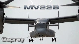 MV 22 Osprey Us Marines at Spain