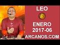 Video Horóscopo Semanal LEO  del 5 al 11 Febrero 2017 (Semana 2017-06) (Lectura del Tarot)