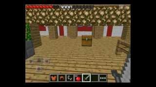 Minecraft Pocket Edition Livestream 0.7.2 - Dragonball Z Adventure Map