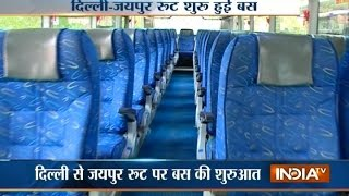 Special Bus Services for women begins at Delhi-Jaipur route