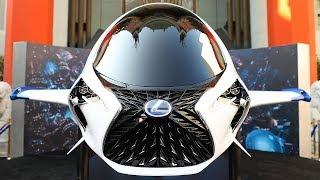Lexus SKYJET – Features, Design, Production. YouCar Car Reviews.