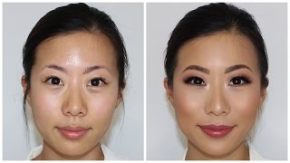 Hooded Asian Eyes Client Makeup Tutorial ♡ Jasmine Hand