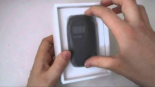 TP-LINK M5 M5350 3G Wireless Mobile Hotspot Unboxing And