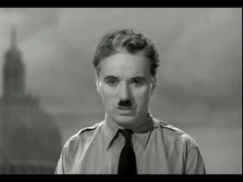 The great dictator 1940 charlie chaplin final speech for Hans zimmer time