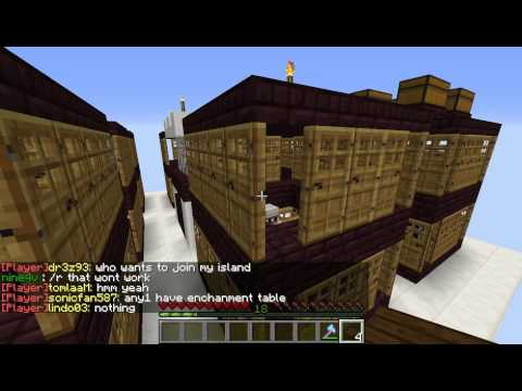 Minecraft Villager Breeding Spawner Tutorial, Skyblock, Unlimited Villagers Fastest Spawn Rate