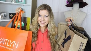 meghanrosette – HUGE Summer Fashion Haul
