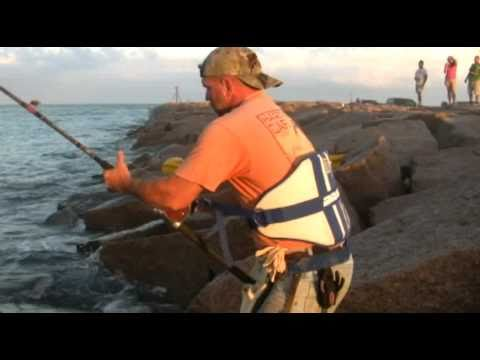 South padre island shark fishing youtube for South padre island fishing pier