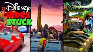 Top 10 Disney Ride Break Downs | Stuck on Disney Rides