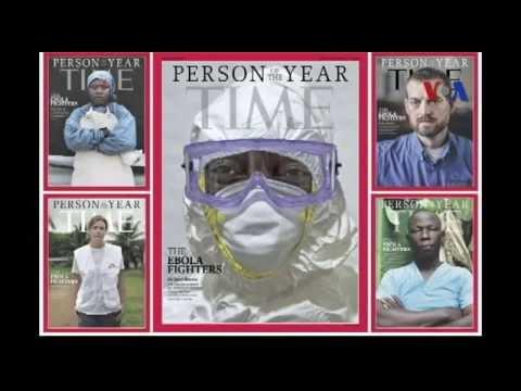 Tạp chí Time: Những người chiến đấu với Ebola là 'Nhân vật của năm'