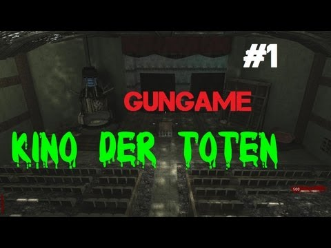 Custom Zombies - Kino der Toten Re-Make Co-op: Arcade & GunGame Modes (Part 1)