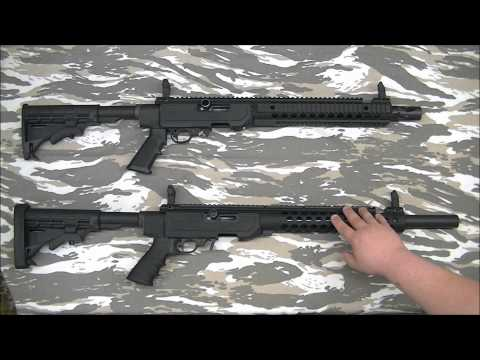 Troy Industries The T22 Sport vs The T22 Tactical