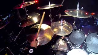 PRIMAL FEAR Randy Black Live Drum Cam Footage
