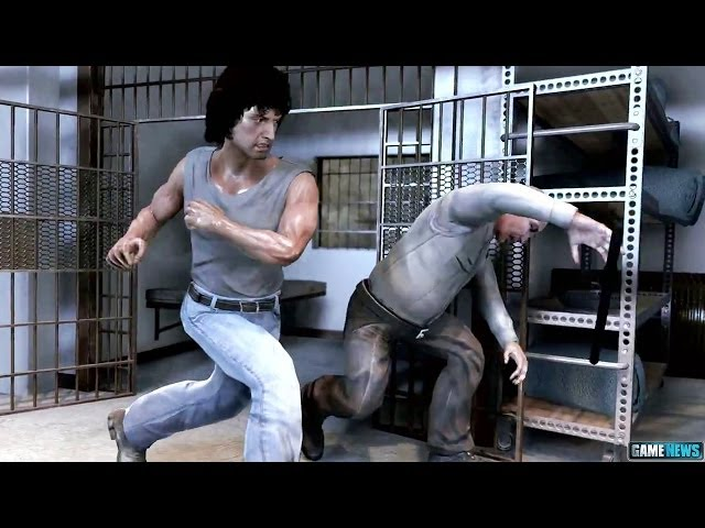 RAMBO THE VIDEO GAME Gameplay Trailer