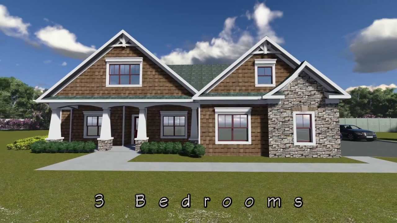America 39 s best house plans 009 00072 youtube for Americas best small house plans