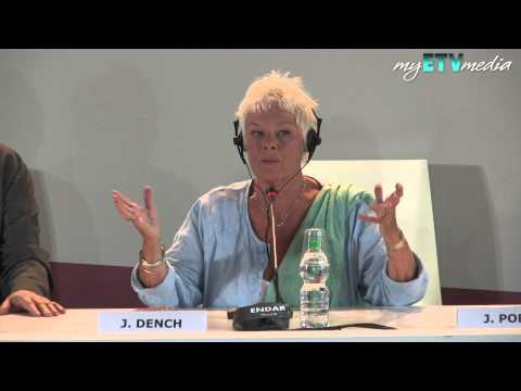 Judi Dench On Philomena (70th Venice International Film Festival 2013)