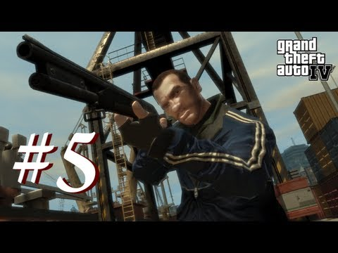 Grand Theft Auto 4 Multiplayer Shenanigans with Creatures Episode 5 - The Casual Stroll