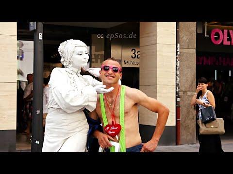 Sling Bikini Thong Tanga with Real Ghost Statue