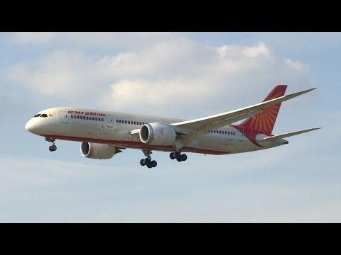 Air India B787 * Dreamliner* at Frankfurt Airport |FULLHD
