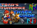 Mario Kart 8: Toad's Turnpike - Track Guide / Analysis