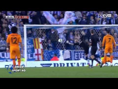 Espanyol vs Real Madrid 0-1 Benzema Goal  Copa Del Rey HD
