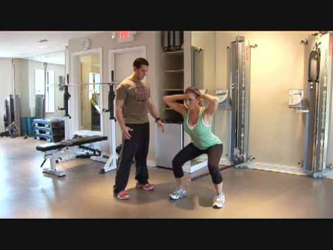 Fitness and Exercise Video: No Equipment Body Weight Workout