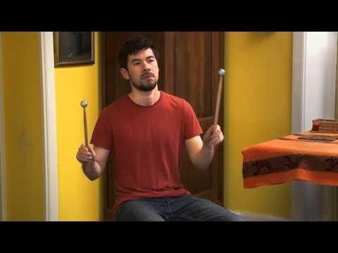 Aerodrums Silent Air-Drumming Instrument