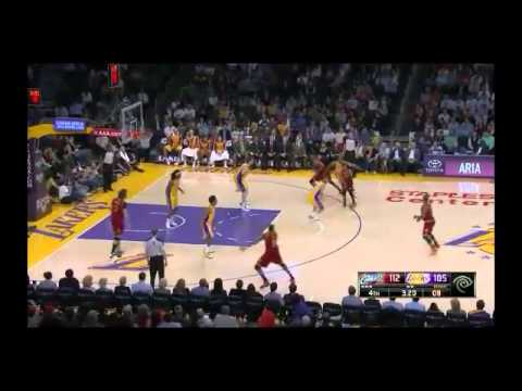 NBA CIRCLE - Cleveland Cavaliers Vs LA Lakers Highlights 14 Jan. 2014 www.nbacircle.com