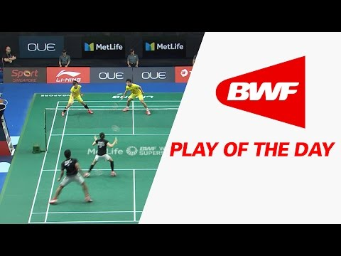 Play Of The Day | Badminton QF - OUE Singapore Open 2017