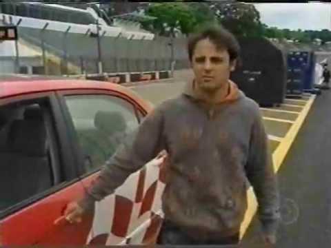 Felipe Massa finge ser instrutor da Autoescola Márcio