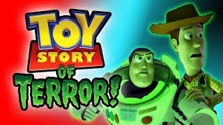 TOY STORY OF TERROR!!! HALLOWEEN Movie Tribute Kinder